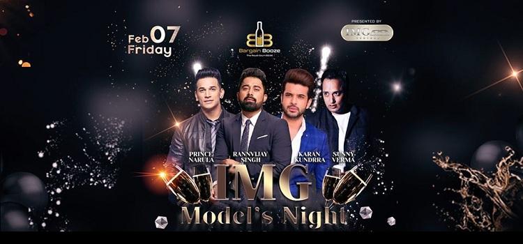 IMG Model Night At Bargain Booze Chandigarh