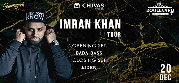 Punjabi Sensation Imran Khan Live At 26 Boulevard