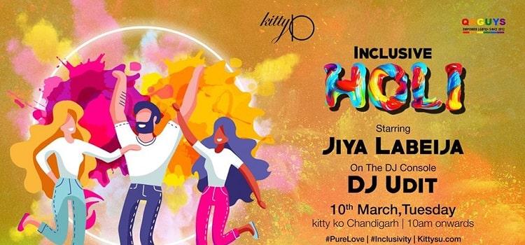 Inclusive Holi Party At Kitty Su Chandigarh