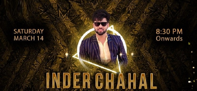 Inder Chahal At The Finch Chandigarh