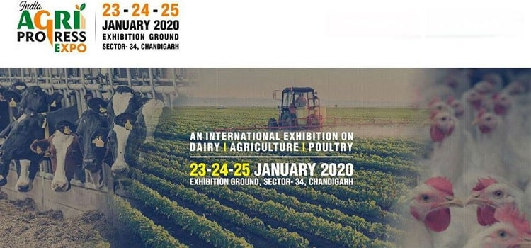 India Agri Progress Expo 2020 In Chandigarh by Sector 34 Exhibtion Ground
