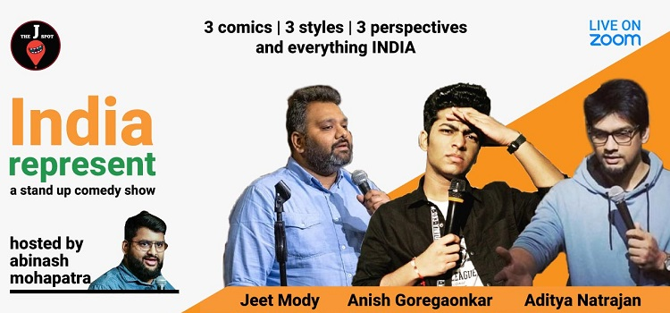 India Represents - A Online Standup Comedy Show