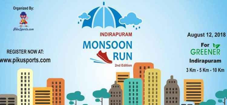 Participate in Indirapuram Monsoon Run At Indirapuram Habitat Centre, Ghaziabaad!