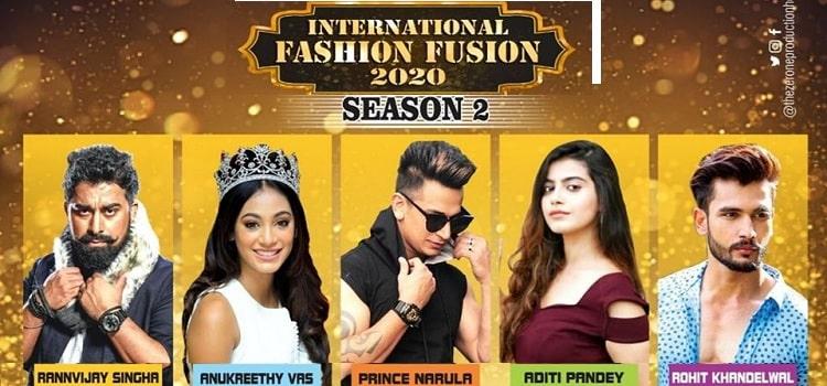 International Fashion Fusion 2020 Season-2