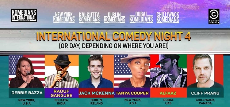 International Online Comedy Night