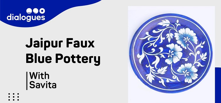 Jaipur Faux Blue Pottery Workshop With Savita