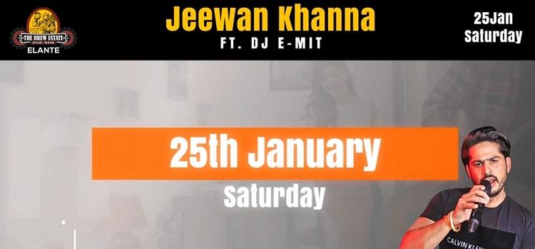 Jeewan Khanna At The Brew Estate Elante
