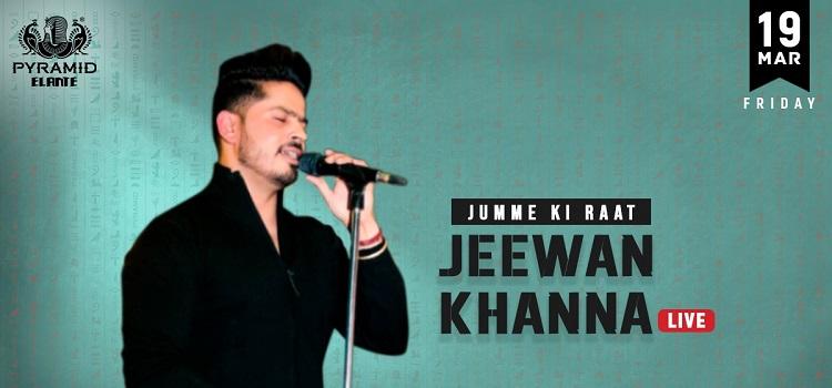 Jeewan Khanna Live Music Event At Pyramid Elante
