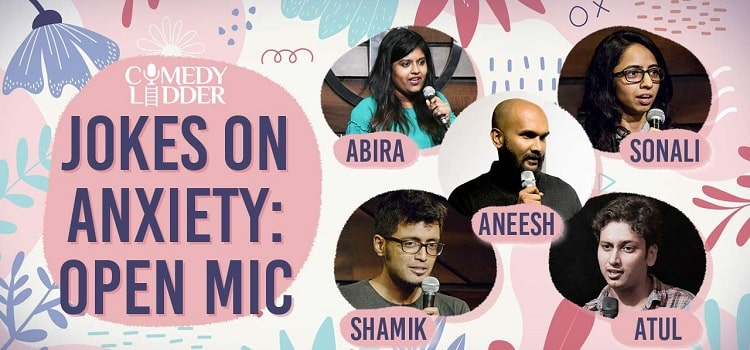 Jokes On Anxiety: Open Mic Comedy Event