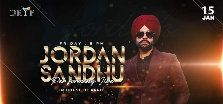 Jordan Sandu Live At Dryp Chandigarh