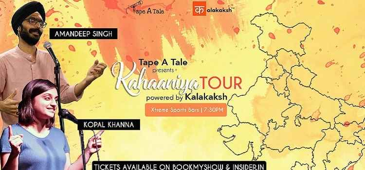 Kahaaniya Tour - A Storytelling Show By Tape A Tale In Chandigarh