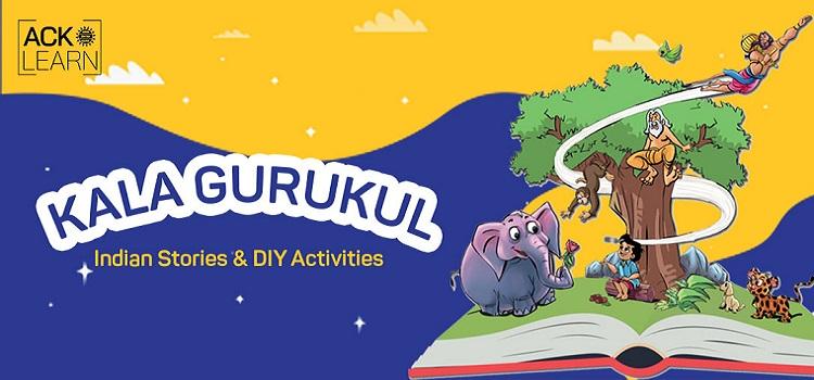 Kala Gurukul - Storytelling Virtual Workshop by Online Events