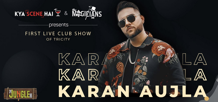 Karan Aujla Live At The Jungle Bar Chandigarh