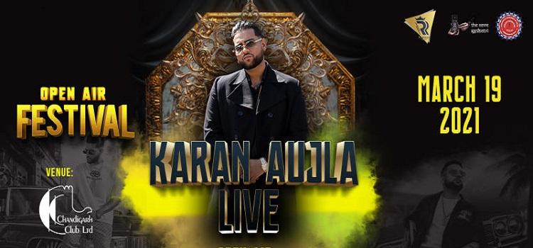 Karan Aujla Live at Chandigarh Club