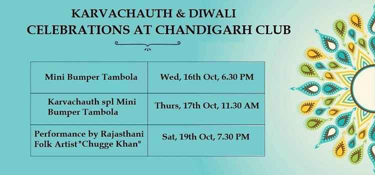 Karvachauth & Diwali Celebrations at Chd Club by Chandigarh Club