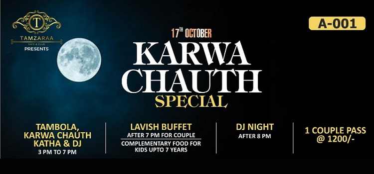 Karwa Chauth Special Event at Tamzaraa Chandigarh