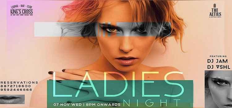 Ladies Night : Ft. Dj Jam Dj Vshl at Kings Cross, Chandigarh
