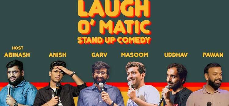 Laugh-O-Matic-Stand Up Online Comedy by Online Events