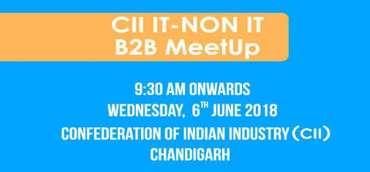 Let's Talk Business With CII IT-Non IT B2B MeetUp!