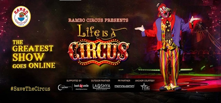 Life is a Circus Online Event