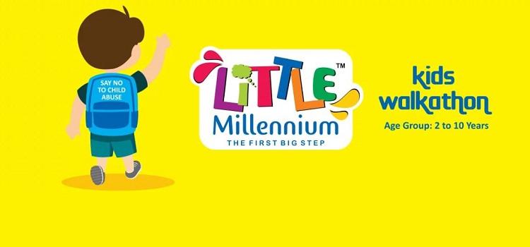 Little Millennium Kids Walkathon In Chandigarh