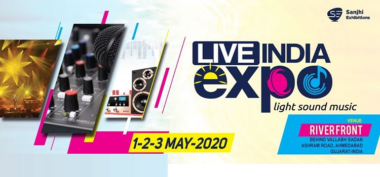 Live India Expo At Riverfront Park Ahmedabad