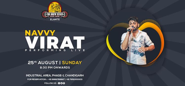 Navvy Virat Live Music Event at Brew Estate Elante