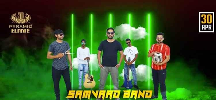 Live Music by Samvaad The Band At Pyramid Elante