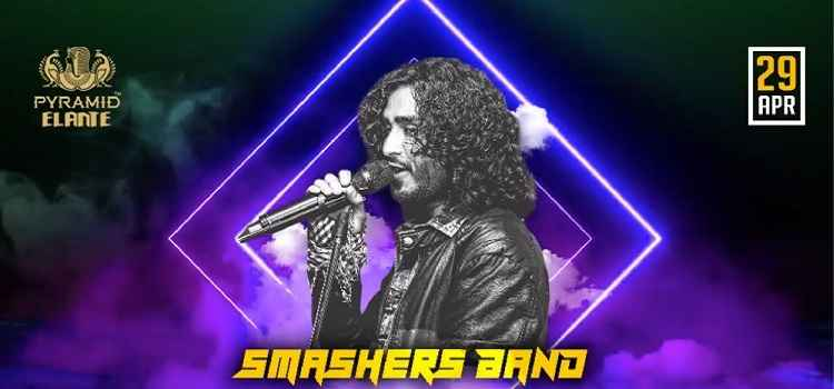 Live Music by Smashers The Band At Pyramid Elante