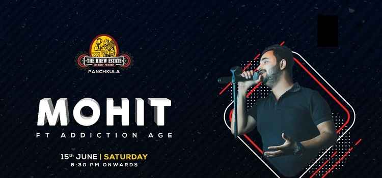 Live Performance Ft. Mohit Sharma At Brew Estate