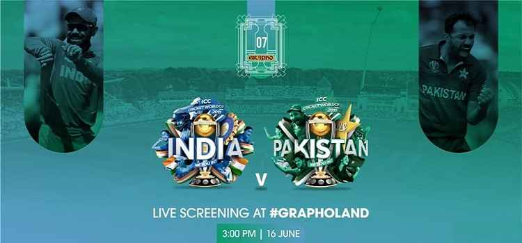 Live Screening: India VS Pakistan At Grapho 07