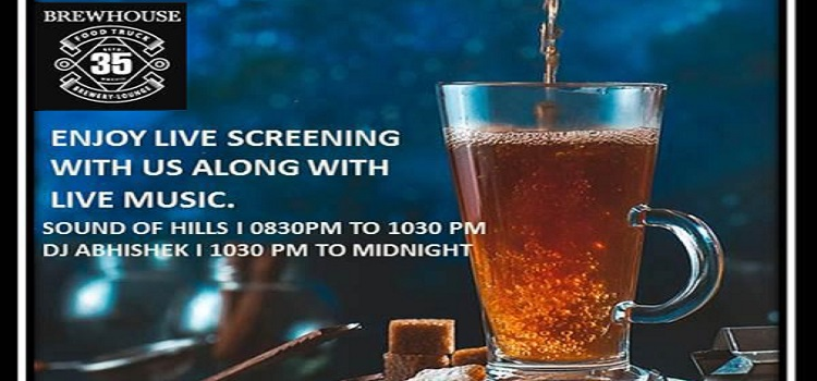 Live Screening With Live Music At 35 Brewhouse