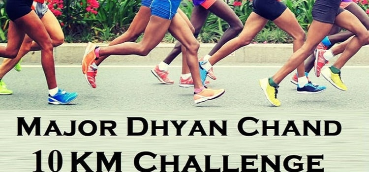 Major Dhyan Chand - 10 KM Challenge Event