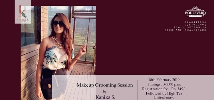 Makeup Grooming Session By Kanika.S At 26 Boulevard