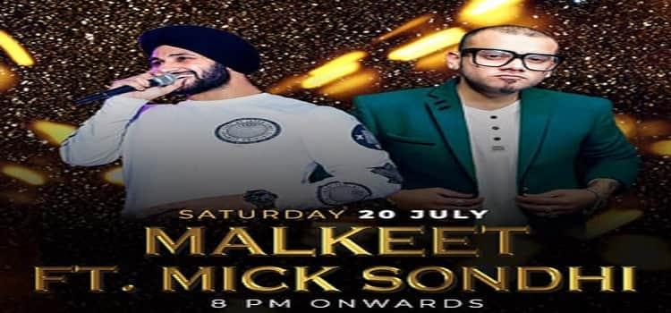 Malkeet ft Mick Sondhi Live at MOBE