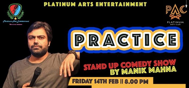 Comedian Manik Mahna At PAC Chandigarh by Platinum Arts Club