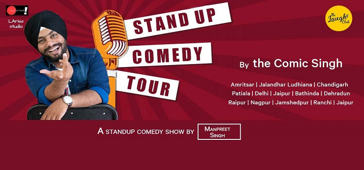 Manpreet Singh Live At The Laugh Club Chandigarh
