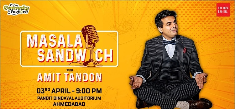 Stand Up Comedy Ft. Amit Tandon In Ahmedabad