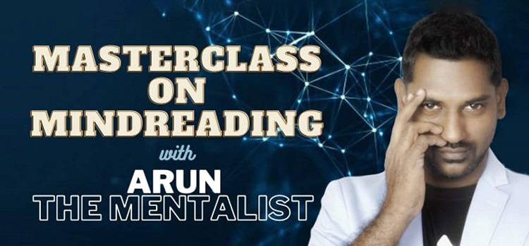 Masterclass on Mindreading With Arun