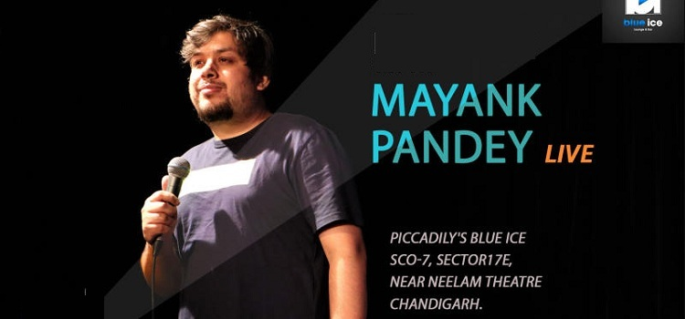 Mayank Pandey Live At Blue Ice, Chandigarh