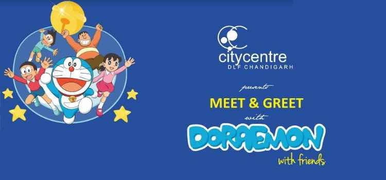 This Summer Meet And Greet With Doraemon And Friends At DLF City Centre, Chandigarh!