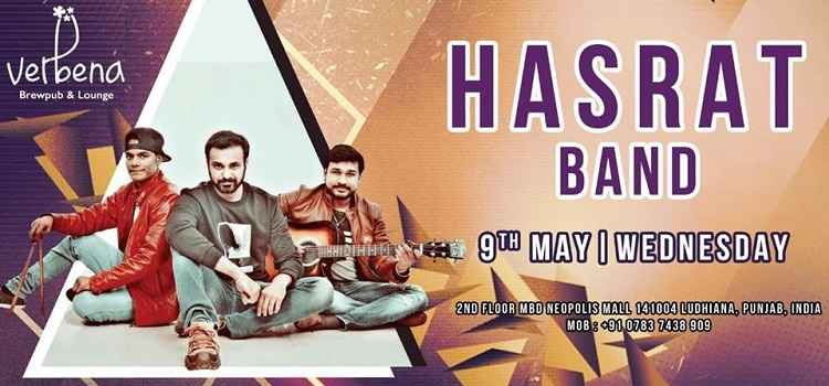 Witness The Best Of Rock Music With Hasrat Band At Verbena