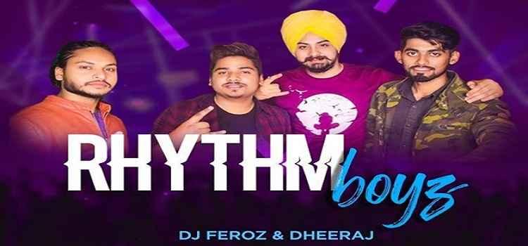 Monday night with Rhythm Boyz At Boombox cafe