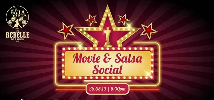 Movie & Salsa Social Night At Rebelle