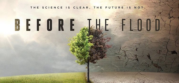 Movie Screening: Before the Flood | September 30