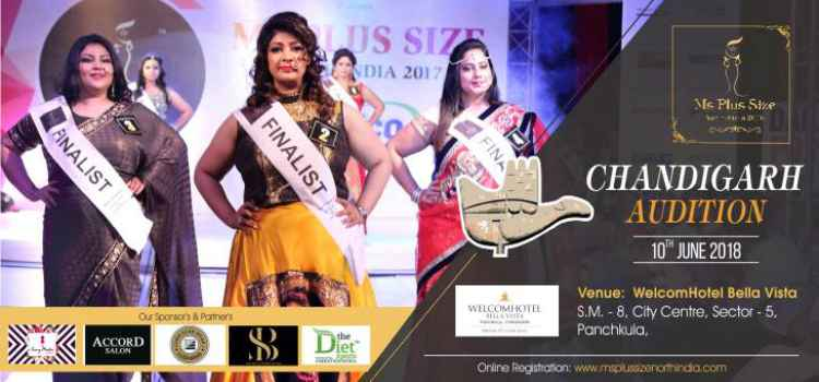 Miss Plus Size North India 2018 Chandigarh Auditions!