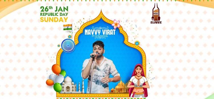 Navvy Virat Ft. Dj Rawhul At MOBE Elante
