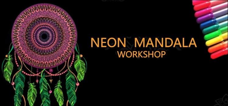 Neon Mandala Art Workshop At Elante Chandigarh