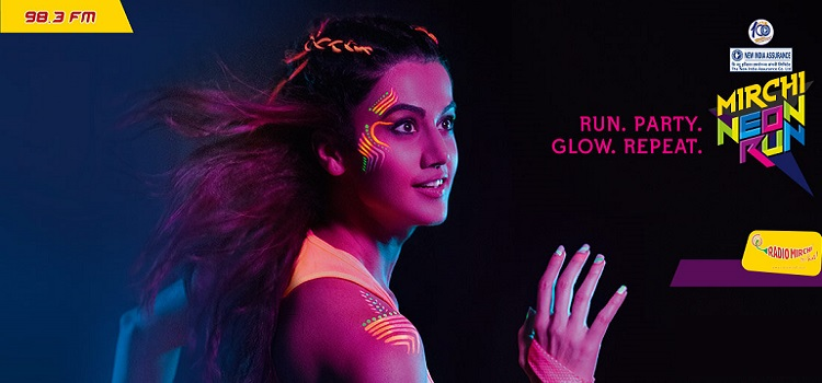 New India Assurance Centenary Mirchi Neon Run