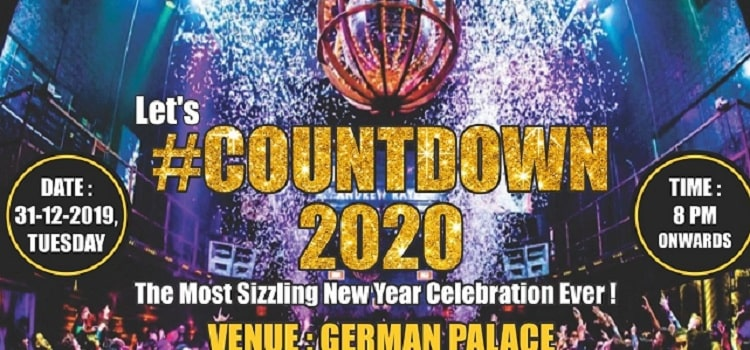 New Year Event at Hotel German Palace in Ahmedabad